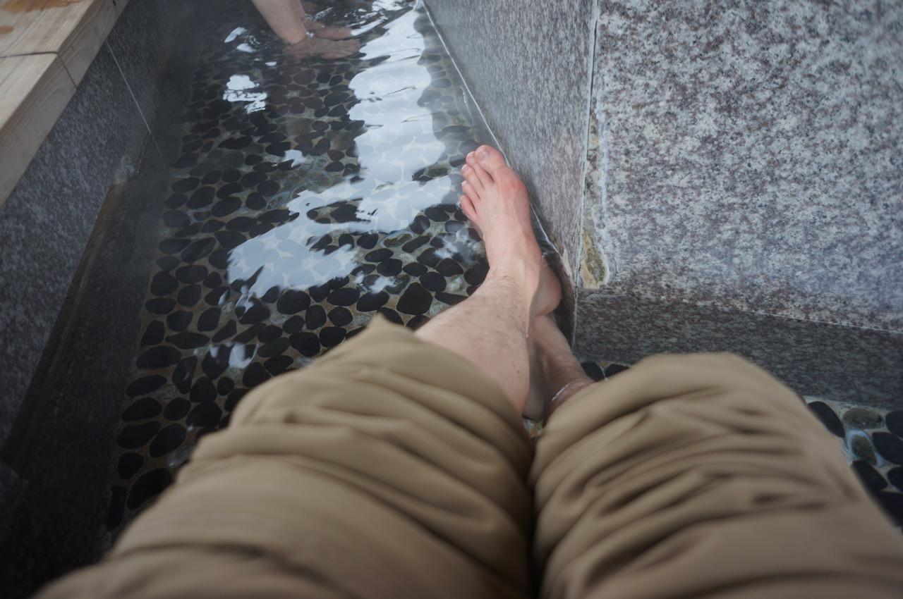 foot hot spring